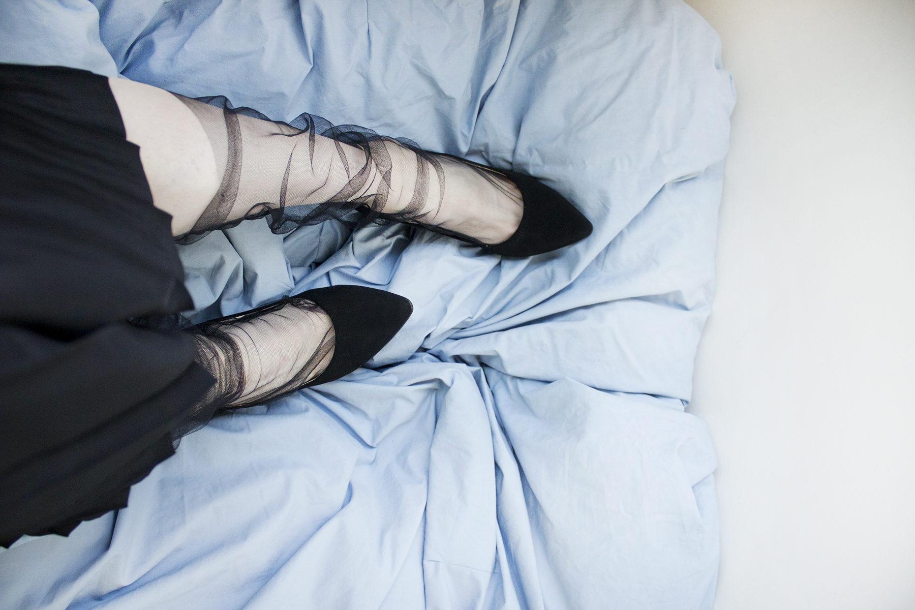 DIY Tulle Socks