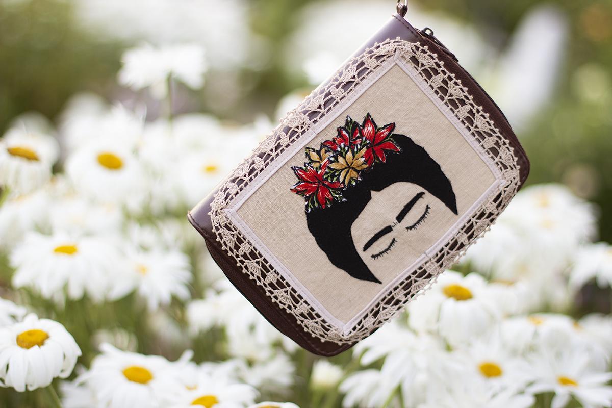 DIY Inspired Frida Wristlet